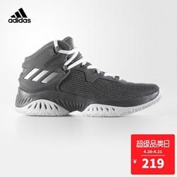 adidas 阿迪达斯  CG4308 男大童篮球鞋 四度灰