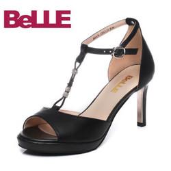 BeLLE 百丽 BOA30BL7 女士凉鞋
