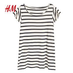 H&M HM0617169 荷叶短袖上衣