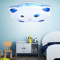 雷士照明 LED圆形客厅现代简约客卧室餐厅亚克力铁艺吸顶灯