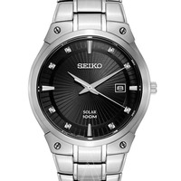 SEIKO 精工 Diamond SNE429 男士太阳能腕表