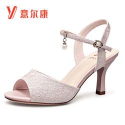 意尔康 8351ZL29907W 女士凉鞋