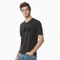 Levi's李维斯 LINE 8系列 29554-0016 男女同款圆领字母印花短袖T恤