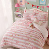 梦洁宝贝 床品套件 儿童家纺 女孩甜美三件套 纯棉床单被罩 甜甜布兰妮 1.2米床 150*215cm 189元