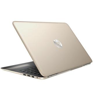 HP 惠普 畅游人Pavilion 14-al128TX 14英寸笔记本(i5-7200U 4G 500G 940MX )金色