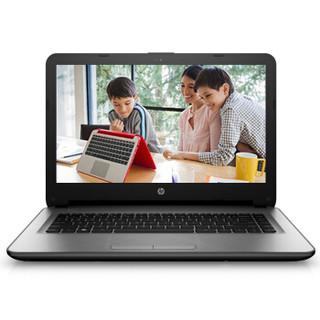 HP 惠普 HP14q-aj105TX 14.0英寸 笔记本电脑 银色(酷睿i5-6200U、R5 M330、8GB、500GB SSD+720P、T5Q44PA)