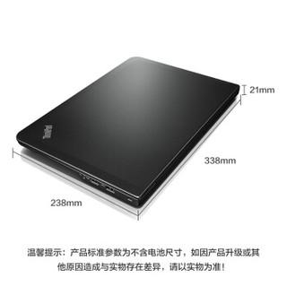 ThinkPad S3(20AYA06UCD) 14英寸超极笔记本电脑 (i3-4030U 4G 500G+8G SSHD)寰宇黑