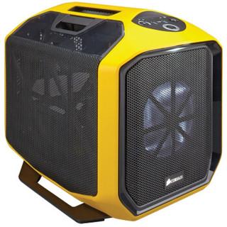 CORSAIR 美商海盗船 Graphite系列 380T 迷你ITX游戏机箱 黄色