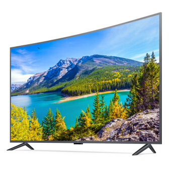 MI 小米 小米电视4S L55M5-AQ 55英寸 曲面 4K 液晶电视