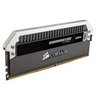 CORSAIR 美商海盗船 统治者铂金 DDR4 3000 16GB(8Gx2条) 台式机内存