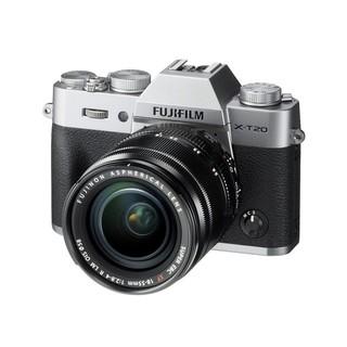 FUJIFILM 富士 X-T20(18-55mm f/2.8-4) APS-C画幅无反相机套机