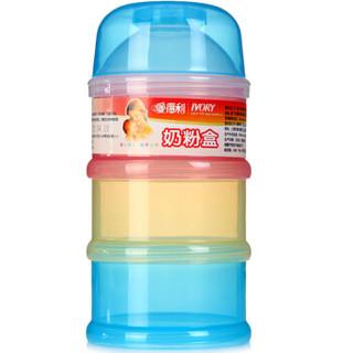 IVORY 爱得利 F04+F32 婴儿奶粉盒+感温软头安全汤匙套装 (四层+2个装)