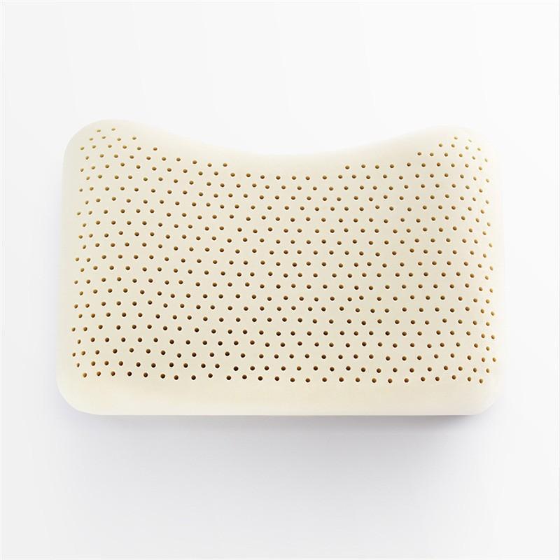 TAIHI 泰嗨 天然乳胶美容平面枕蝴蝶型装 带枕套 国内发货