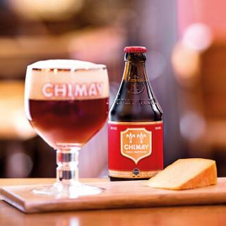 Chimay 智美 红帽蓝帽组合装 精酿啤酒 330ml 6瓶