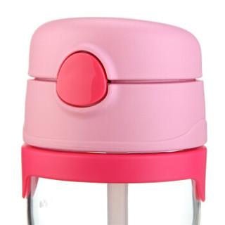 THERMOS 膳魔师 foogo系列 BP5353 PK 儿童Tritan吸管杯 (粉色、325ml)
