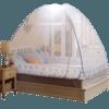 南极人蒙古包蚊帐免安装三开门拉链宿舍折叠双人家用1.5米/1.8m床 69元