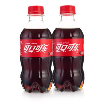 Coca Cola 可口可乐 汽水 300ml 24瓶 塑料瓶装