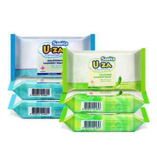 U-ZA 婴幼儿洗衣皂 (180g、柚子*3 黄瓜*3)