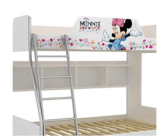 酷漫居 米妮欢乐时光 F101620101 1.2米金属架高低床