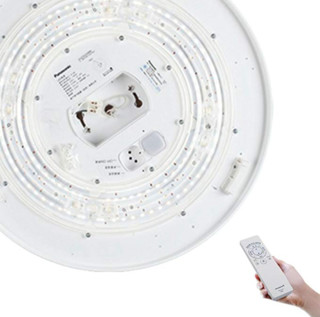 Panasonic 松下 HHLAZ3100 棕色LED客厅吸顶灯  46W