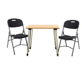 need尼德 亚当系列 AC4BCH-E1+AE90CB 可折叠便携式户外桌椅套装