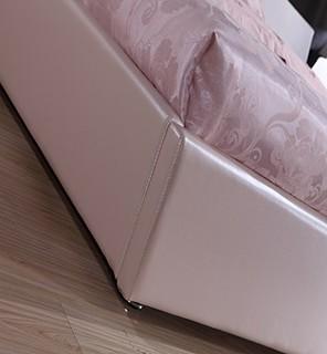NMDS 诺曼迪诗 9960# 诺曼迪诗 现代欧式整体床 1.5*2米