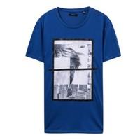 ME&CITY 518392 男士圆领短袖T恤