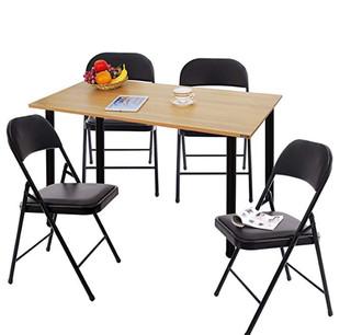 need  亚当系列 简约家用餐桌椅套装 1桌+4椅