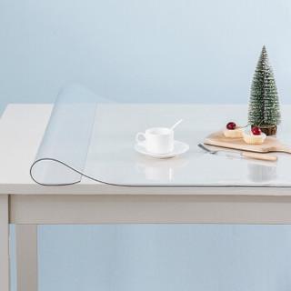 锦色华年 防水防油免洗水晶板  PVC 茶几布  90*160cm *2件
