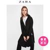 ZARA 女装 侧拉链装饰连帽风衣 08004021800 159元