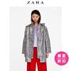 ZARA 女装 防水格子风衣 00518064064 159元