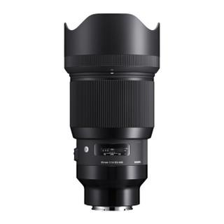 SIGMA 适马 Art 85mm F1.4 DG HSM 标准定焦镜头 索尼E卡口 86mm