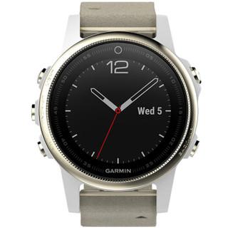 GARMIN 佳明 fenix5s飞耐时5s 智能手表 中文蓝宝石 银色