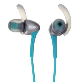SONY 索尼 MDR-AS800AP 防水运动耳机 蓝色