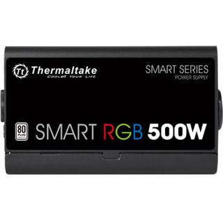 Thermaltake 曜越 Smart RGB 500W 额定500W 电源(80PLUS白牌)