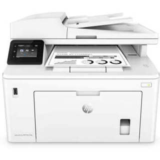 HP 惠普 M227fdw 黑白激光一体机 (黑白激光、小型商用、打印 扫描 复印 传真、A4、有线&无线,USB,云打印、支持自动双面打印)