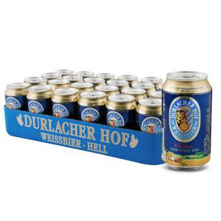 DURLACHER 德拉克 小麦黑啤酒 330ml 24听 普通装