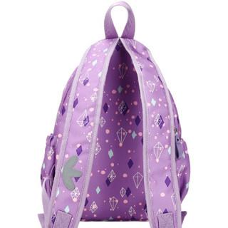 flavorgirl 芙蕾 双肩妈咪包 紫色