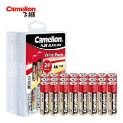 飞狮(Camelion)碱性电池 干电池 LR6/AA/5号 电池 24节 鼠标/血压计/血糖仪/玩具/相机/指纹锁/话筒 *4件