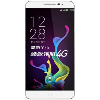 Coolpad 酷派 锋尚 Y75  移动4G手机 8GB 白色