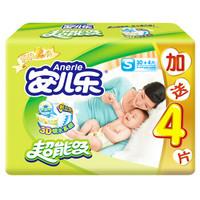 Anerle 安儿乐 超能吸2代 婴儿纸尿裤 小号 S34片