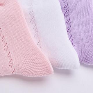 Disney 迪士尼 儿童中筒袜6双组 22-24cm