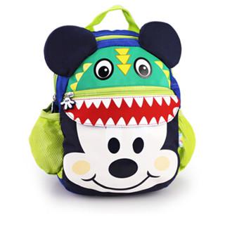 Disney 迪士尼 米奇儿童宝宝可爱小书包 宝蓝