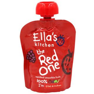 Ella's kitchen 有机红色混合果泥 90g
