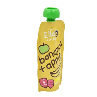 Ella's kitchen 艾拉厨房 苹果香蕉果泥 120g