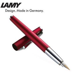 LAMY 凌美 Studio演艺系列 钢笔 (EF尖、宝石红、铜质内杆)