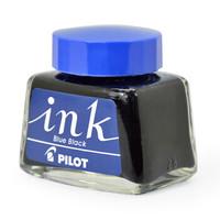 日本百乐(PILOT)非碳素墨水 不堵笔钢笔墨水30ml 蓝黑INK-30-BB原装进口 *4件+凑单品