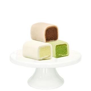 麦香威尔 戚风白玉卷 原味 抹茶 巧克力 日式甜品 下午茶点 蛋糕 105g *18件