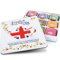 English Tea Shop 英国有机什锦茶包 纪念礼盒装 72包