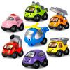 YIER 儿童玩具 卡通车7件套 *3件 116.8元(合38.93元/件)